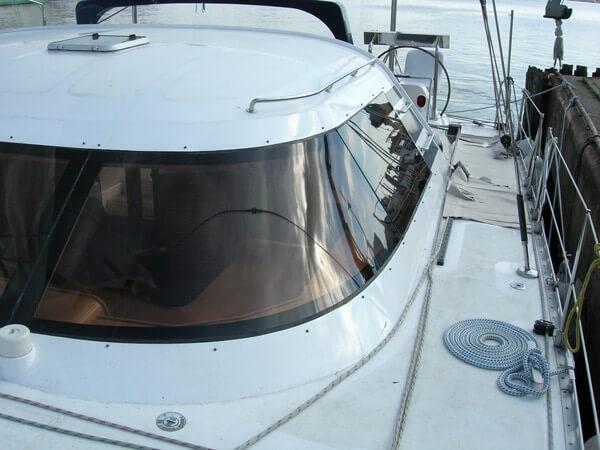 Bootsscheiben Acrylglas - Segeljacht - LETO Wilhelmshaven