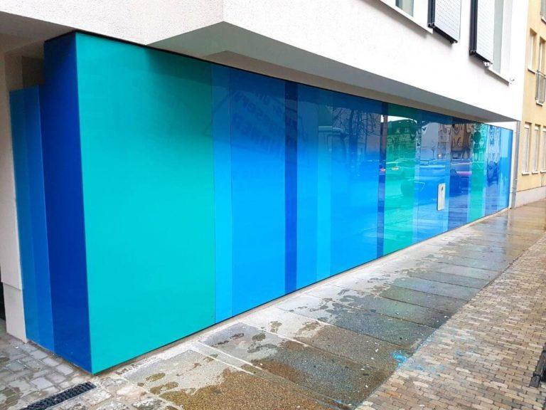 Fassadenelemente Kunststoff