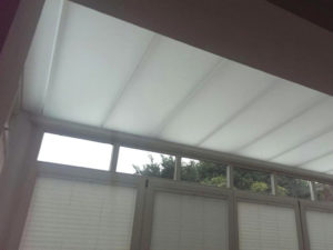 Wintergarten Deckenelement aus Acrylglas - LETO Kunststofftechnik