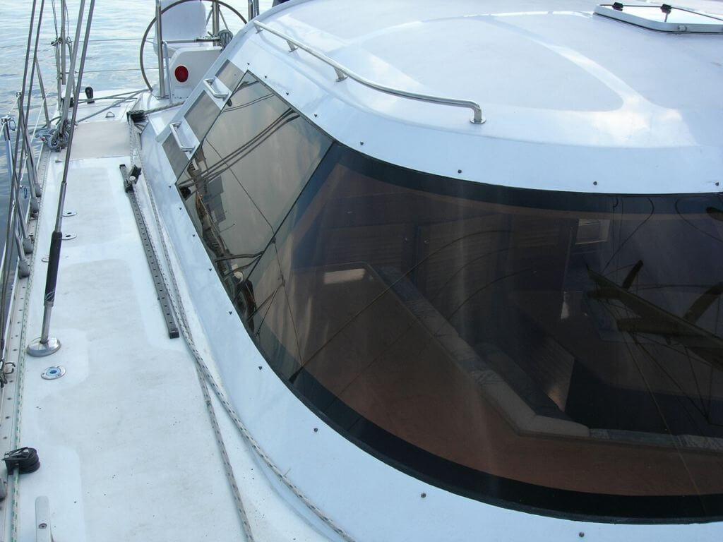 Bootsscheiben aus Acrylglas für Catamara